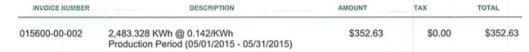 SolarCity Bill